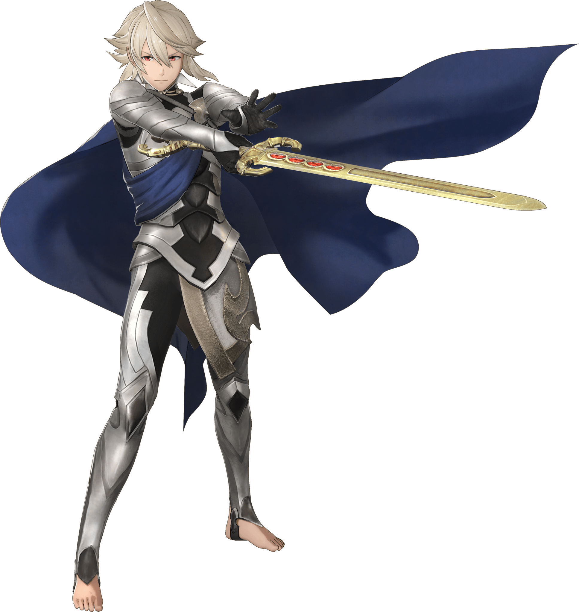 Male Corrin Warriors ficial Art Fire Emblem Warriors