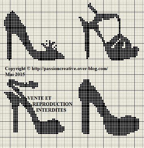Grille gratuite point de croix chaussures point de croix pinterest grille gratuit et - Grille point de croix pinterest ...
