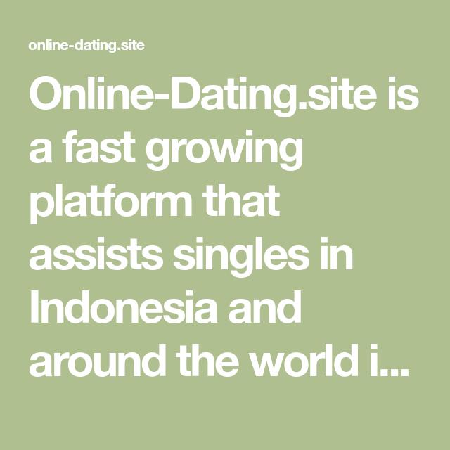 beste dating sites IndonesiГ« grote mooie dating