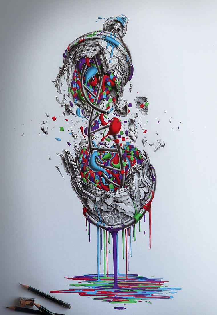 D.N.A - PEZ Artwork