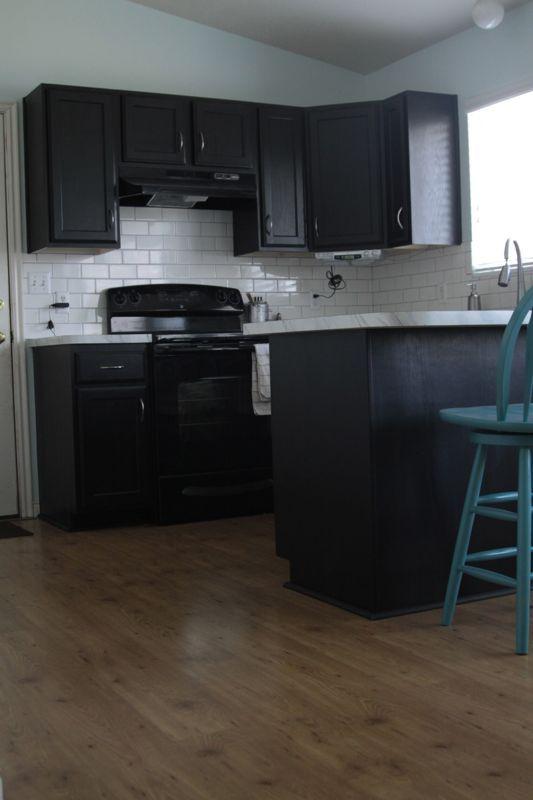 Kitchen Transformation Part 3 U0026 Review Of IKEAu0027s Tundra Flooring