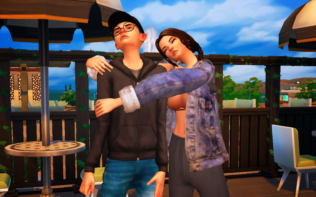 ButterSim Couple Pose #1
