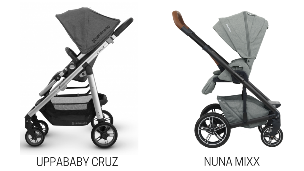 Nuna MIXX vs. UPPAbaby CRUZ Stroller Comparison