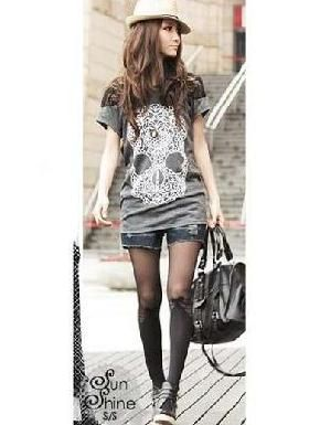 New Skull Graphic Tee Free Shipping One Size $18.99
