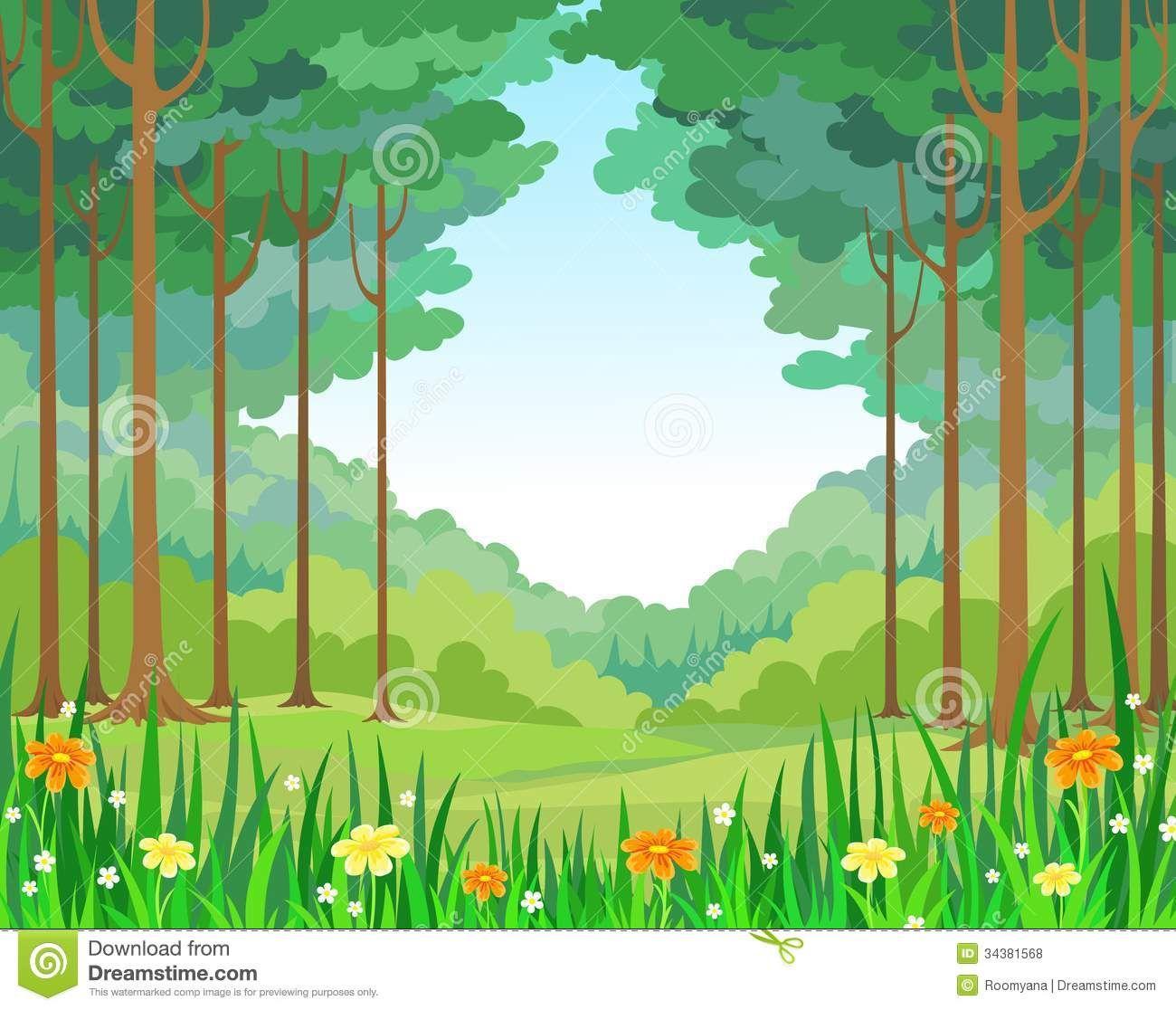 Stylized Forest Stock Illustrations  2487 Stylized