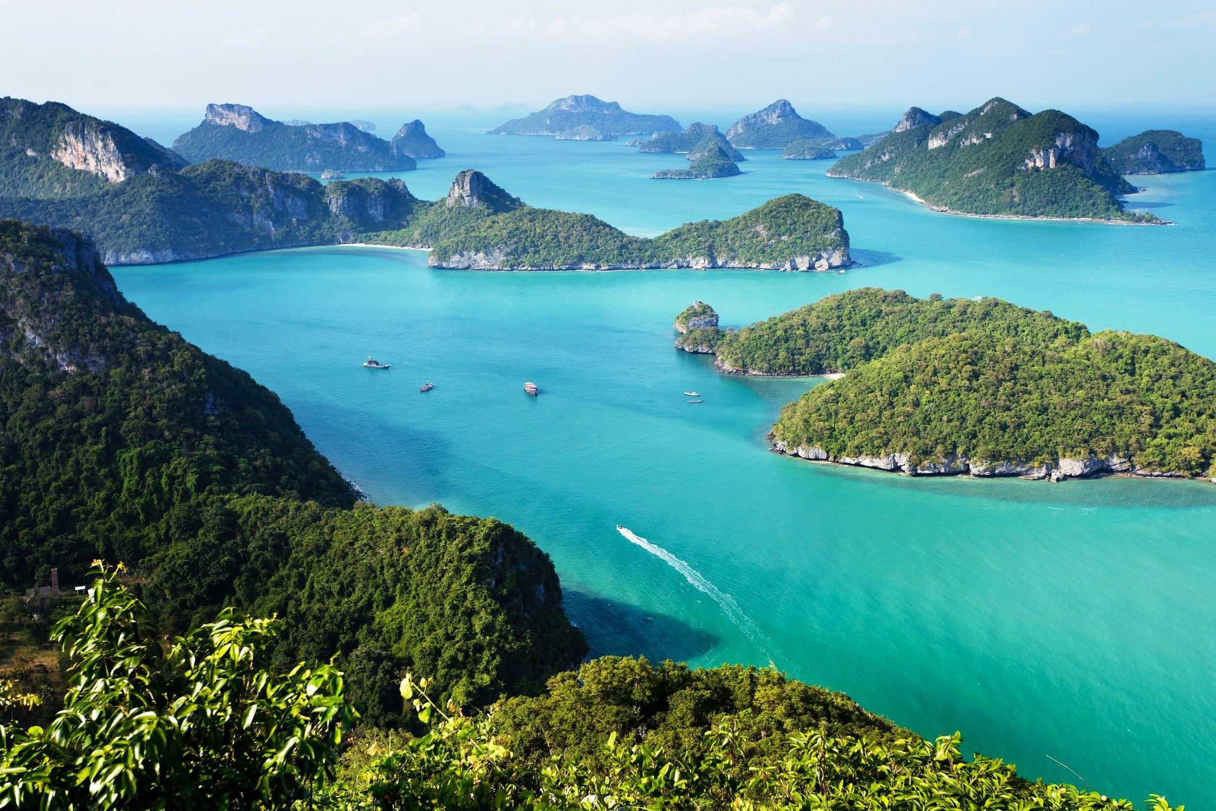 Mu Ko Ang Thong National Park Thailand Mu Ko Ang Thong