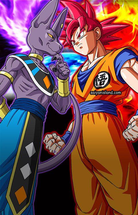 Bills Vs Goku Ssj Dios Dragon Ball Super Goku Vs Dragon Ball