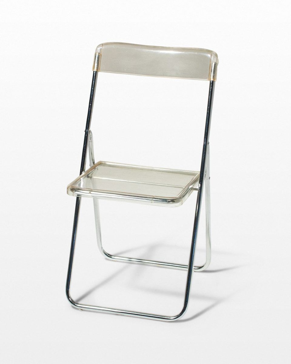 Excellent Ch346 Lucent Folding Chair Prop Rental Acme Brooklyn Ncnpc Chair Design For Home Ncnpcorg