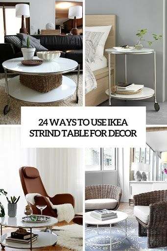 Ways To Use IKEA Strind Coffee Table For Decor Ikea Pinterest - Strind coffee table