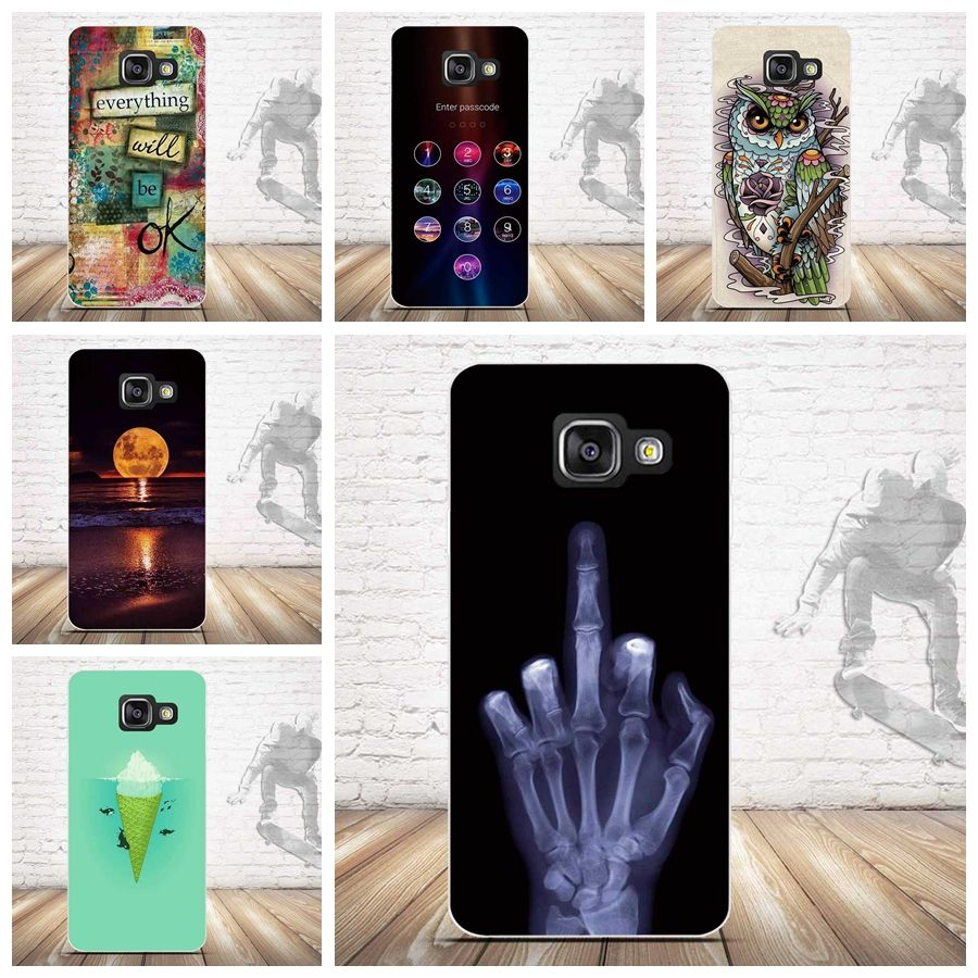 Tpu Soft Case For Samsung Galaxy A3 2016 A310 Cases Back Silicone Phone Cover For Samsung A3 2016 3d Relief Printing Covers Samsung Galaxy Microsoft Kiliflar