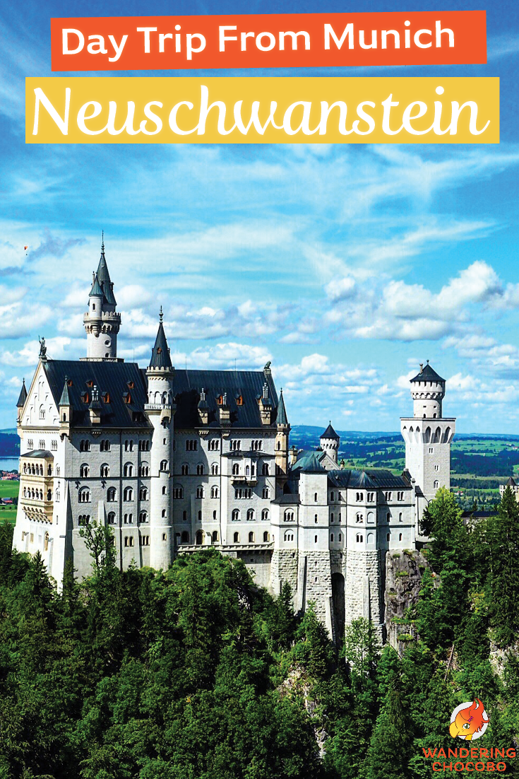 Munich To Neuschwanstein Disney Castle In Germany Germany Travel Trip Europe Travel Destinations