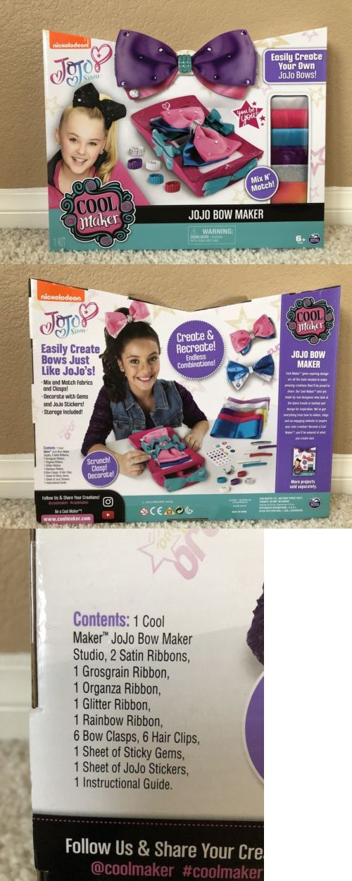 Hair Accessories 57920: Nickelodeon Bow Cool Maker Jojo Siwa Hair
