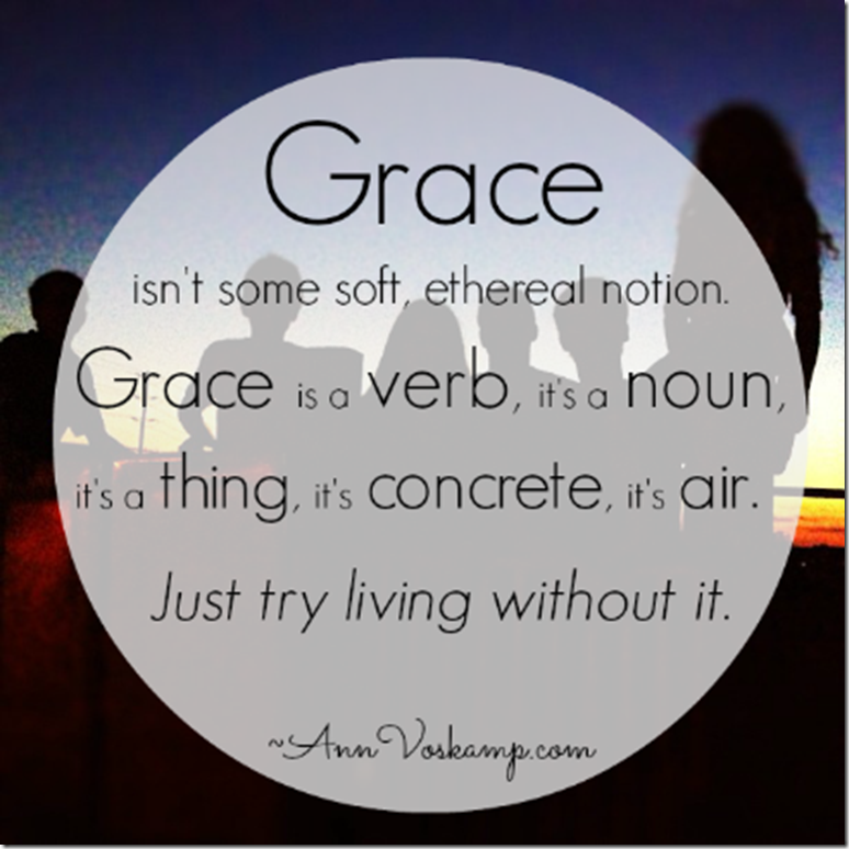 Graceful measures... We each need a lot of grace, and we need to give a lot  too. The more you give the more… | Grace quotes, Ann voskamp quotes,  Inspirational words