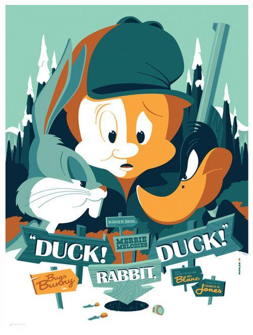 cartoon posters retro cartoons