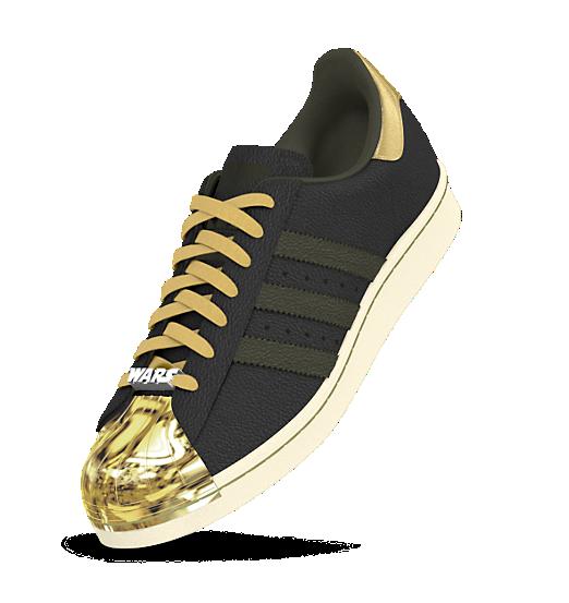 adidas superstar degli anni '80 le scarpe pinterest personalizzabile di star wars