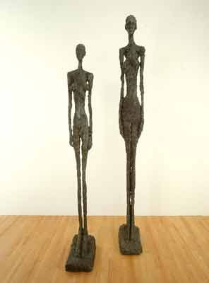 Alberto Giacometti Annette Seated In The Studio 1954 Peinture Art Statues