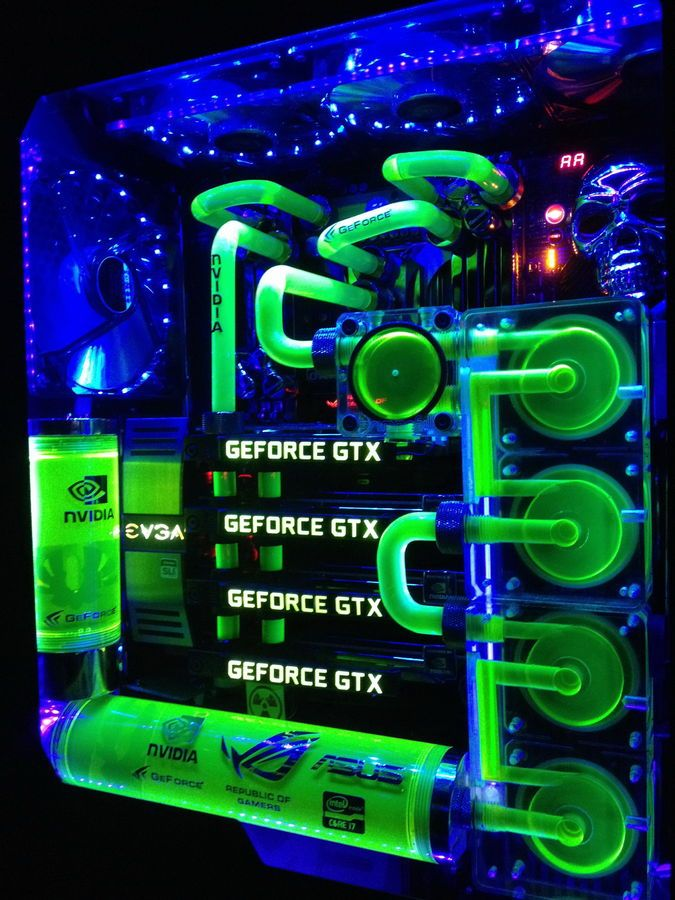 Really Like The Water Cooling Setup Ordenadores Personalizados