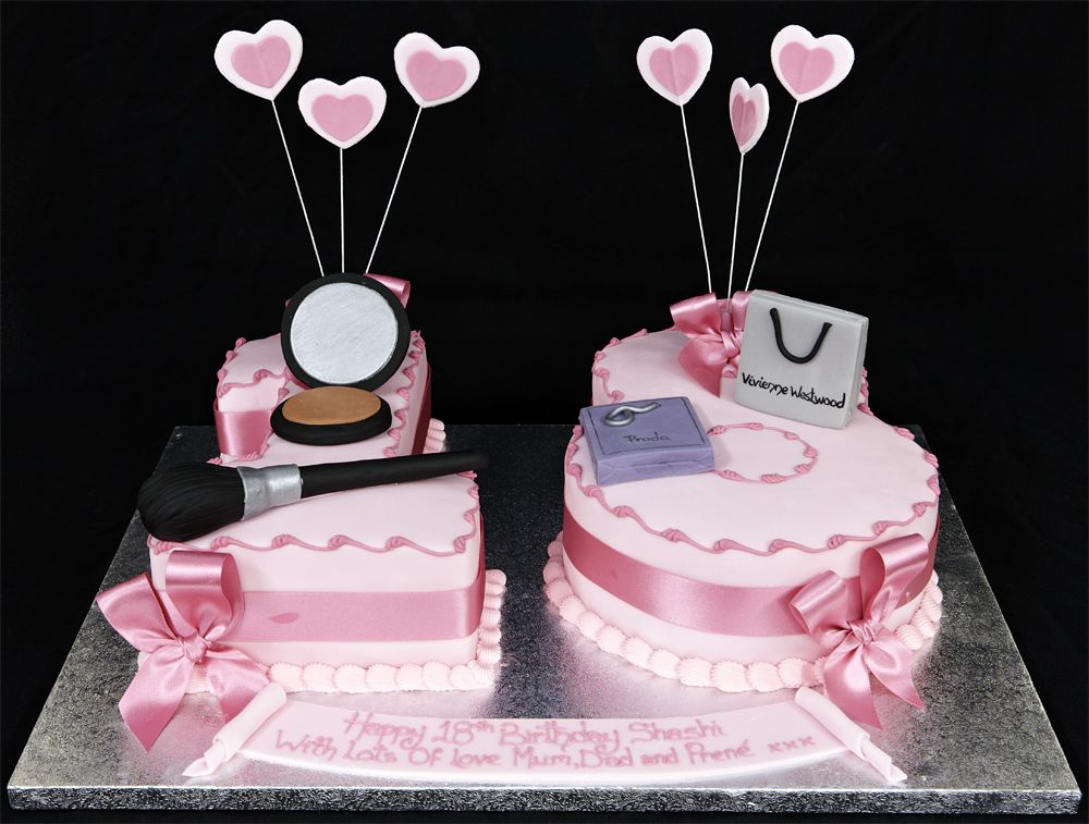 Number 18 Birthday Cakes 18th Birthday Cakes Special