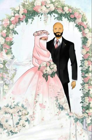 Niqab bride in 2020 Bride, Aurora sleeping beauty, Anime