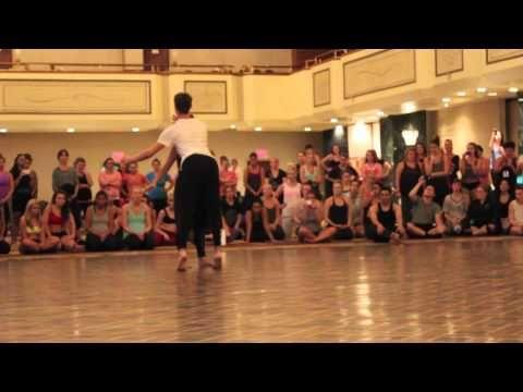 Melanie Moore @ 2013 Dance Teacher Summit - Sonya's Choreo + Improv = Magic! - YouTube