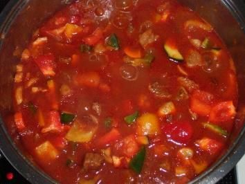 Photo of Gypsy goulash with lean beef and onions – recipe …-Zigeune…