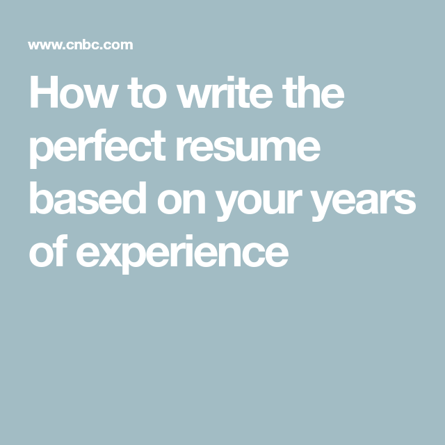 I Ve Been Interviewing For 20 Years And These Are The 3 Best Resume Examples Based On Experience Level Teamwork Skills Good Resume Examples Perfect Resume Example