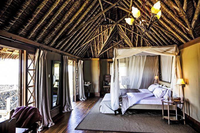 Bedroom interior design at the segera retreat in kenya also modern rh pinterest
