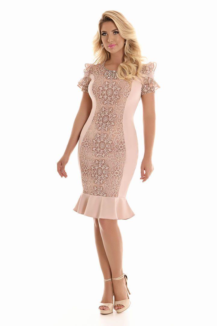 Vestido de renda moda evangelica 2018