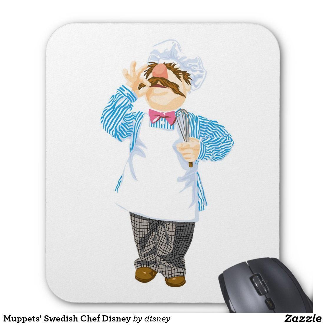 Alfombrilla De Raton Disney El Chef Sueco De Los Muppets Zazzle