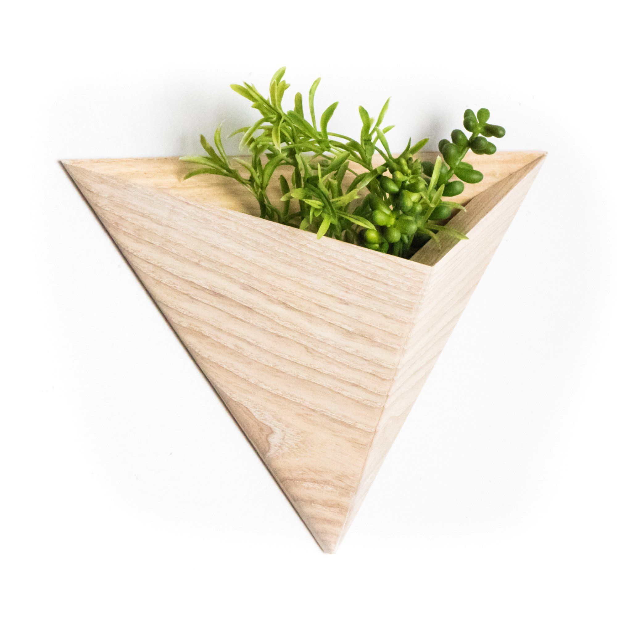Wall Planter With Geometric Design Wall Planter Wall Planters Indoor Geometric Planter