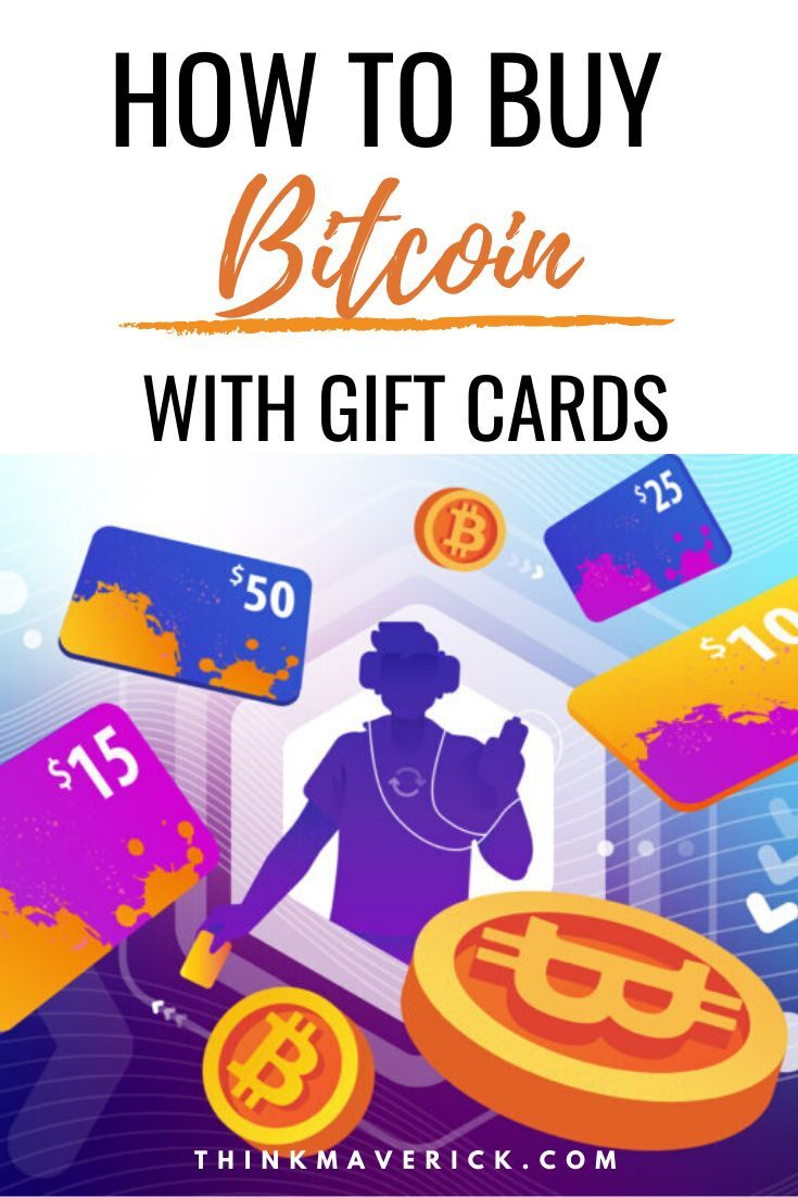 How to buy bitcoin with gift cards instantly with