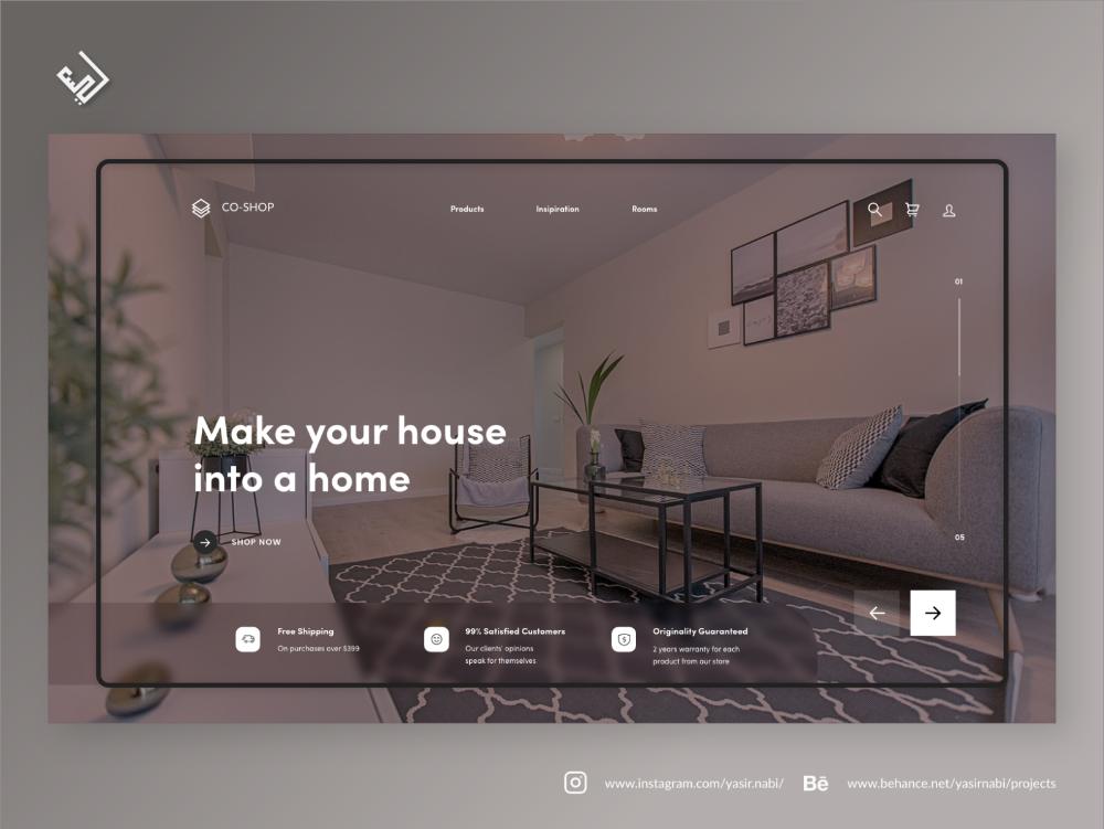 Interior Web Design Design Web Design Interior