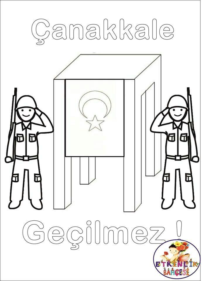 çanakkale Zaferi Atatürk Ve çocuk School Pre School Ve Art