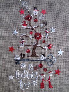 Christmas - x-stitch - creakath: O christmas tree