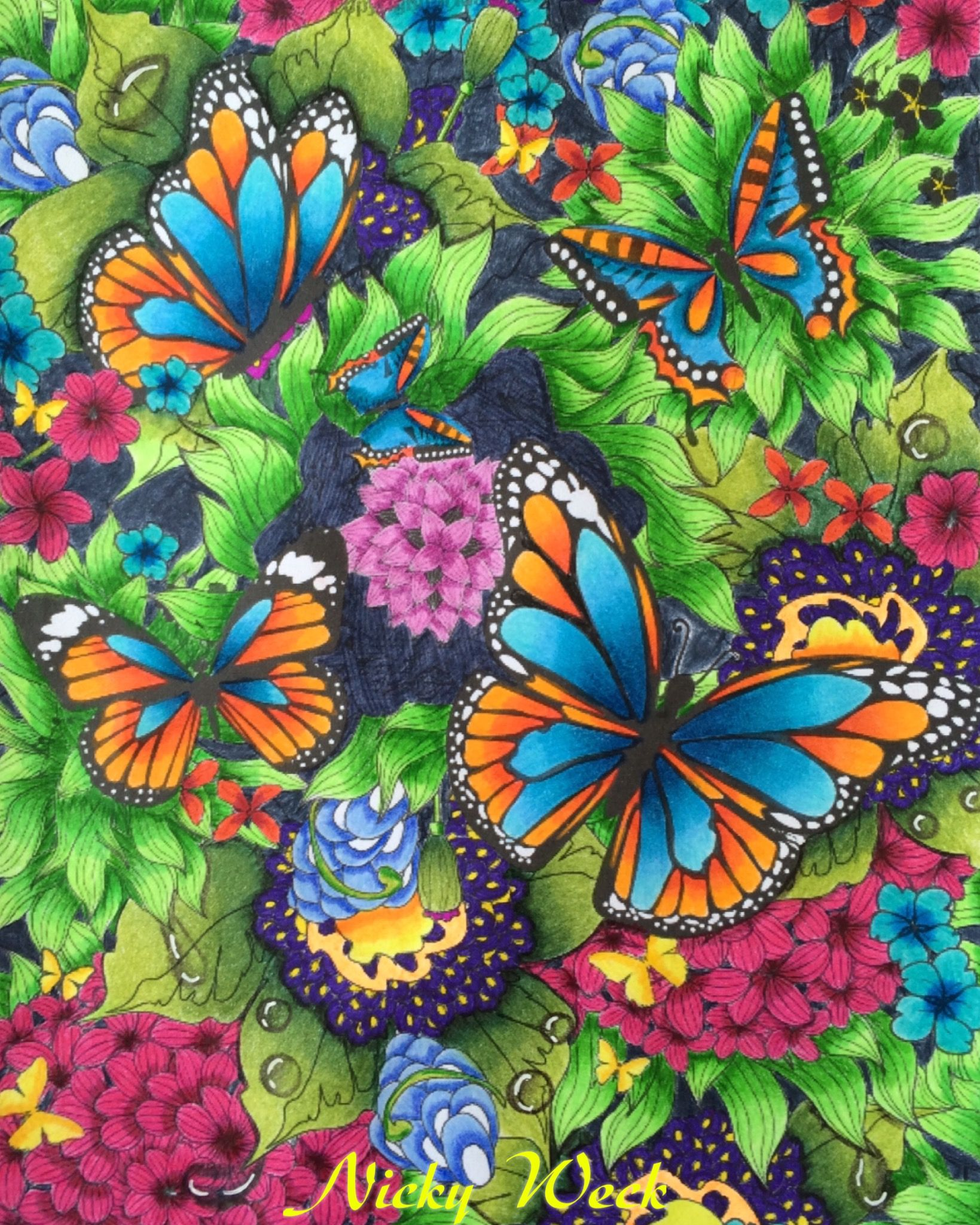 Tropisch Regenwoud My Butterfly Treasure Chest Pretty