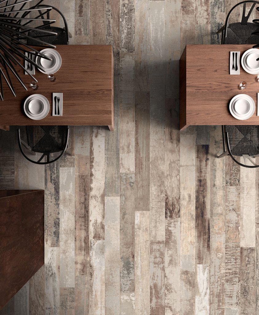 Colorart Wood Effect In Porcelain Stoneware Ceramica