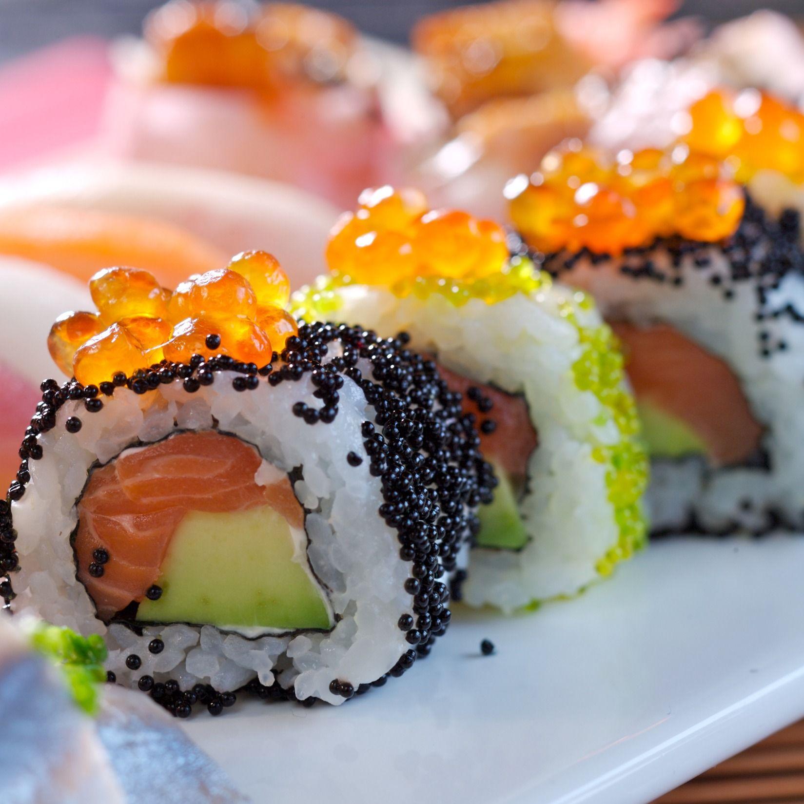 Notre sélection de recettes de sushis en 2020 | Moins de