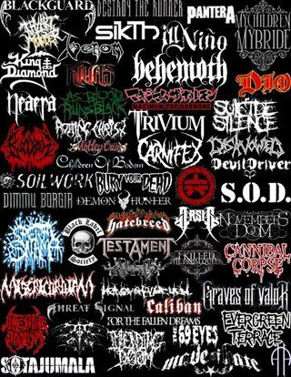 Pin by Tyler Hiteshew on Band Logos in 2019 | Metal band