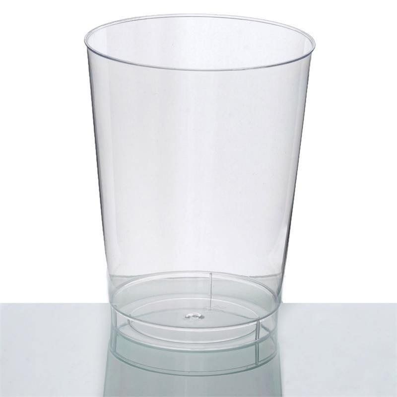 25 Pack Clear 10oz Crystal Collection Disposable Plastic Cups Wedding Plastic Cups Disposable Tableware Clear Cups