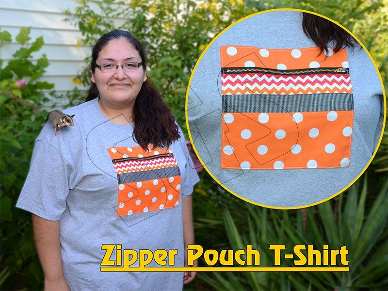 Zipper Pouch T-Shirt