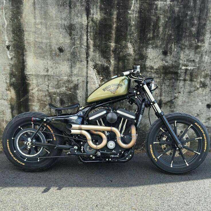Harley Davidson Iron 883: Bobber Motorcycle, Harley Davidson Bikes