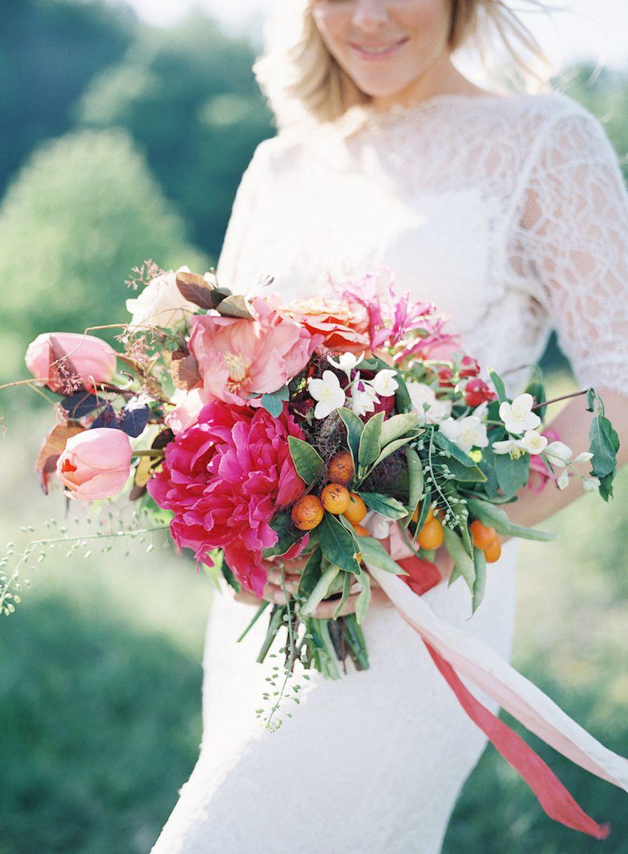 Bright spring bouquet recipe wedding bridal bouquets
