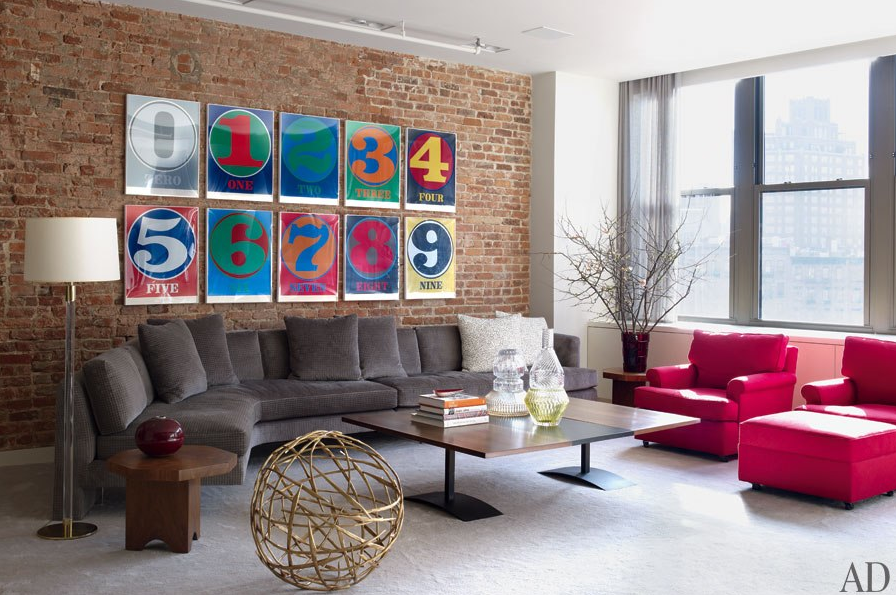 20 Beautiful Living Rooms in Pop Art Style | Home Sweet Home ...