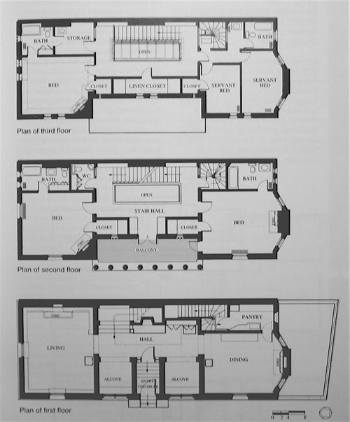 the charnley house 1892 frank lloyd wright architecture pinterest. Black Bedroom Furniture Sets. Home Design Ideas