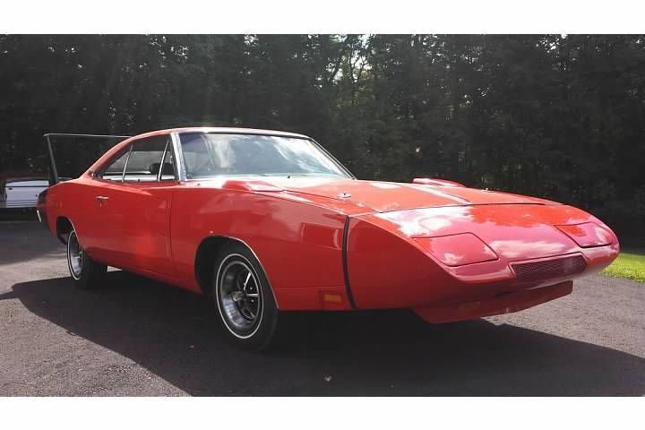 Museum Quality 1969 Dodge Charger Daytona Numbers Matching R4 Red