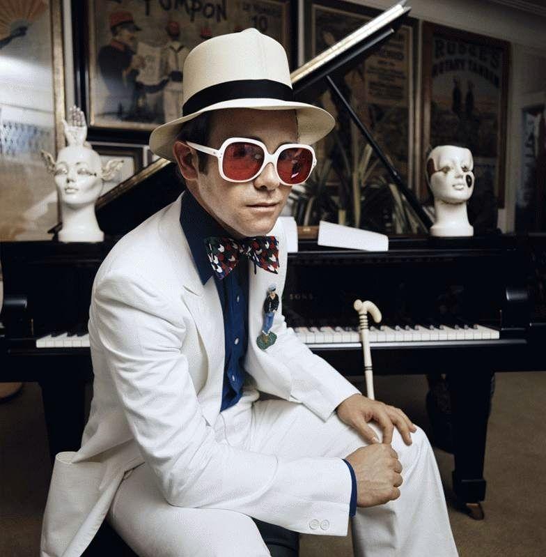 cd4694f76a Elton John. Honky Chateau album cover.