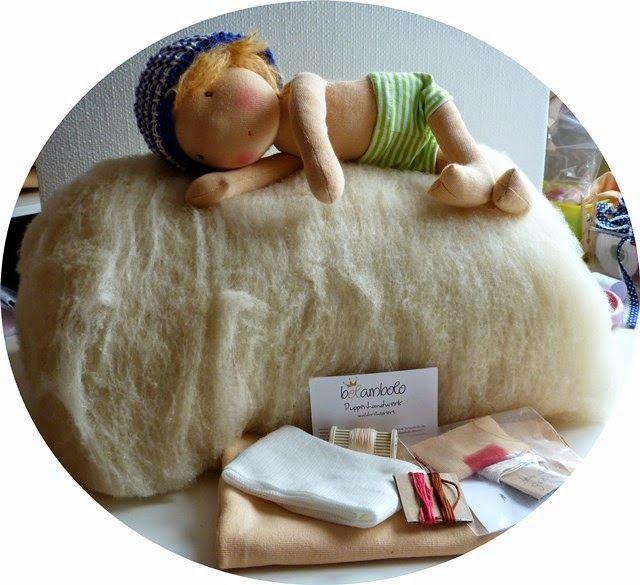 belambolo puppenhandwerk stoffpuppe selbst gemacht mit dem materialkit von belambolo doll. Black Bedroom Furniture Sets. Home Design Ideas