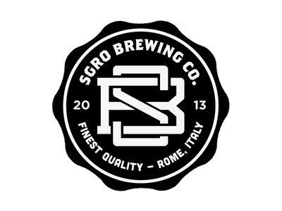 Logo / Sgro Brewing badge
