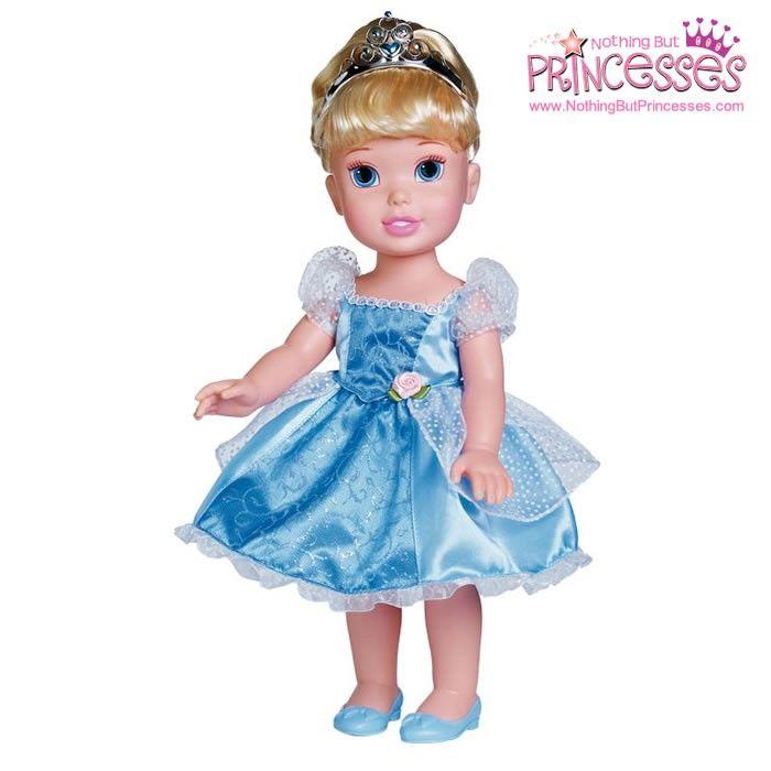 Disney Princess Toddler Doll Cinderella: TollyTots My First Disney Princess Cinderella Toddler Doll