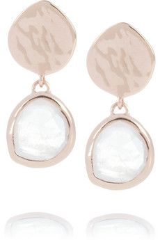Gold Siren Chandelier Earrings Moonstone Monica Vinader rMrA5siuEe